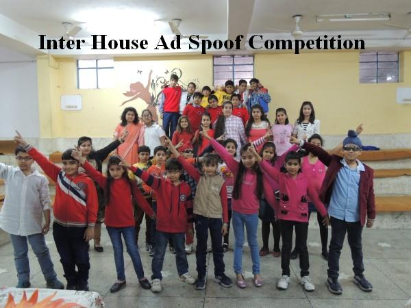 Ad Spoof Inter House competiti