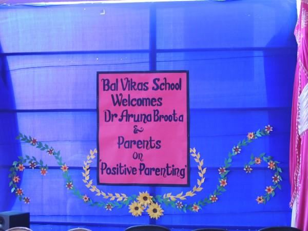 30th April Positive Parenting