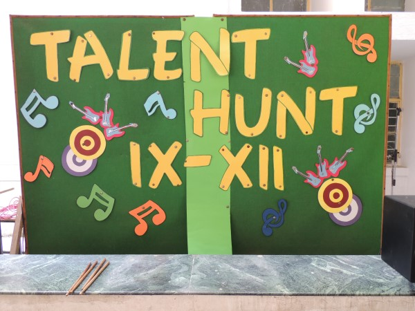 Talent Hunt Classes IX to XII
