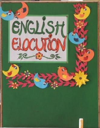 Inter House English Elocution