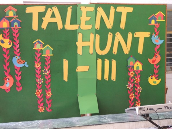 Talent Hunt I-III 25 Aug 15