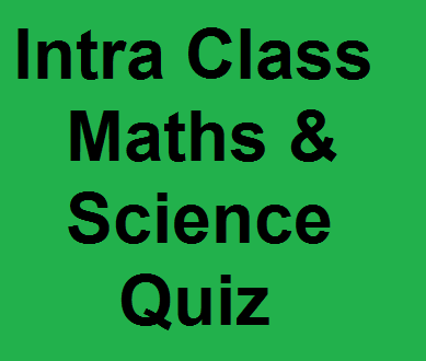 Maths &Science Quiz