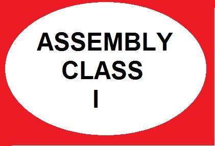 Assembly Class I