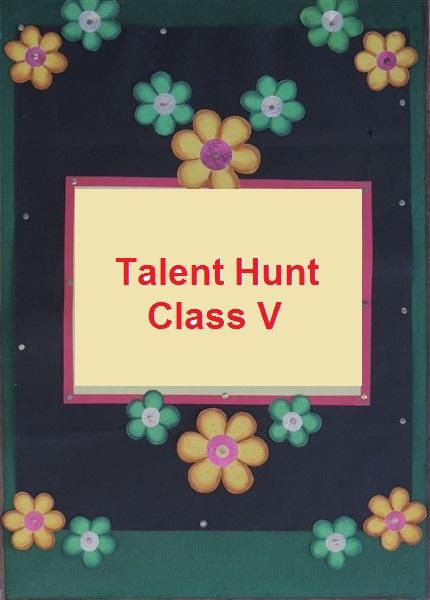Talent Hunt ( 3 to 5 )